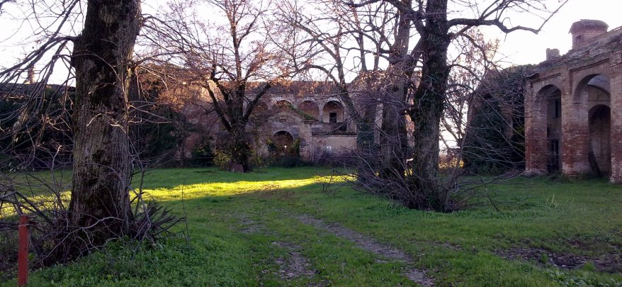 Villa Visconti, dicembre 2012.
