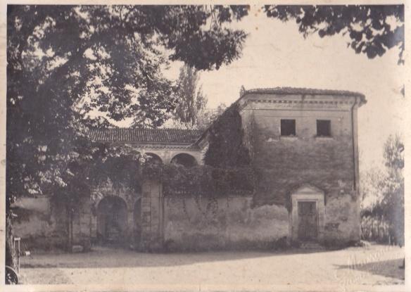 Villa Visconti in un'immagine d'epoca