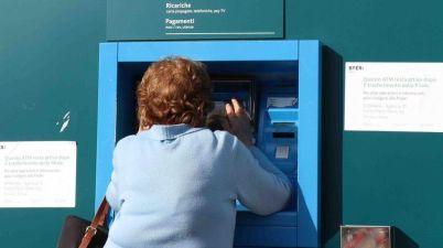 la chiusura di un bancomat